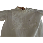 White Edwardian Baby Gown
