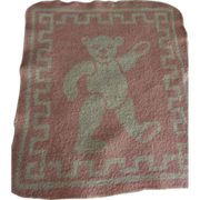 Baby Washcloth With Bear