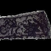 Victorian Black Lace Mitt