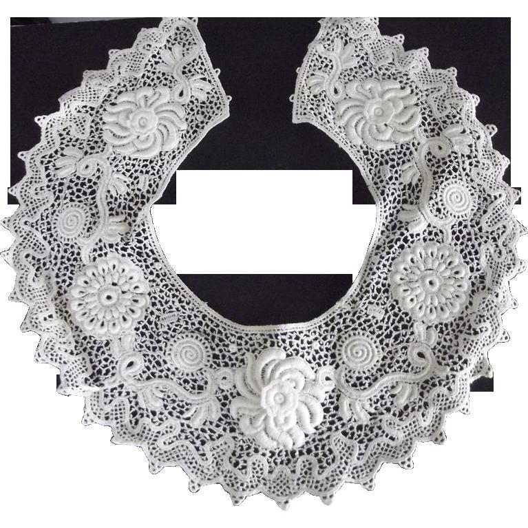 Fancy White Collar