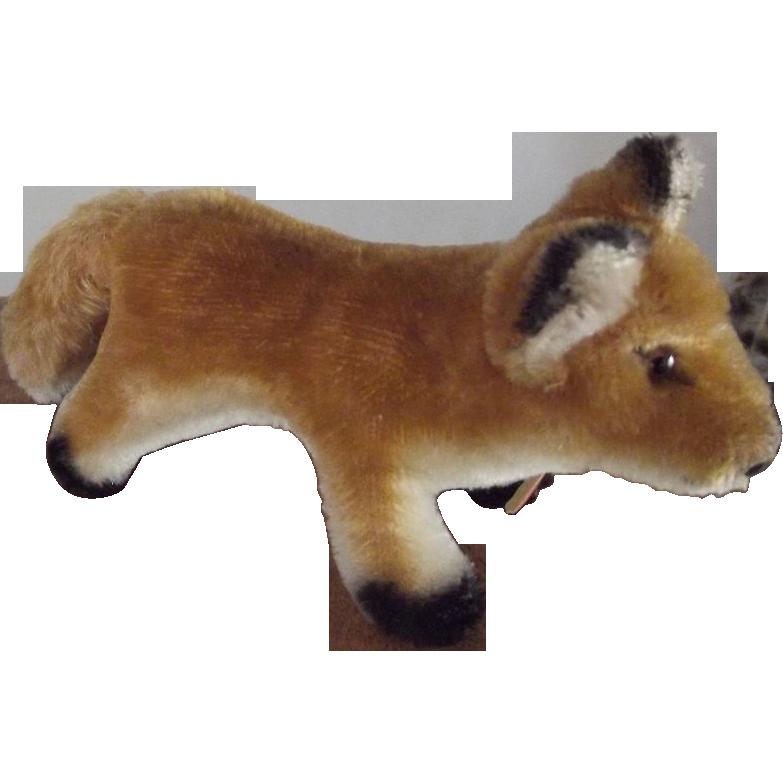 Steiff Fox Rare Version