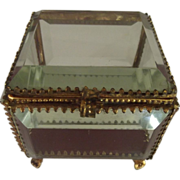 Beveled Glass Box