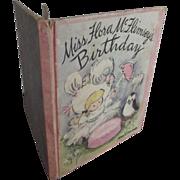 Miss Flora McFlimsey's Birthday