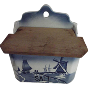 Delft Salt Box Made in Czechslovakia