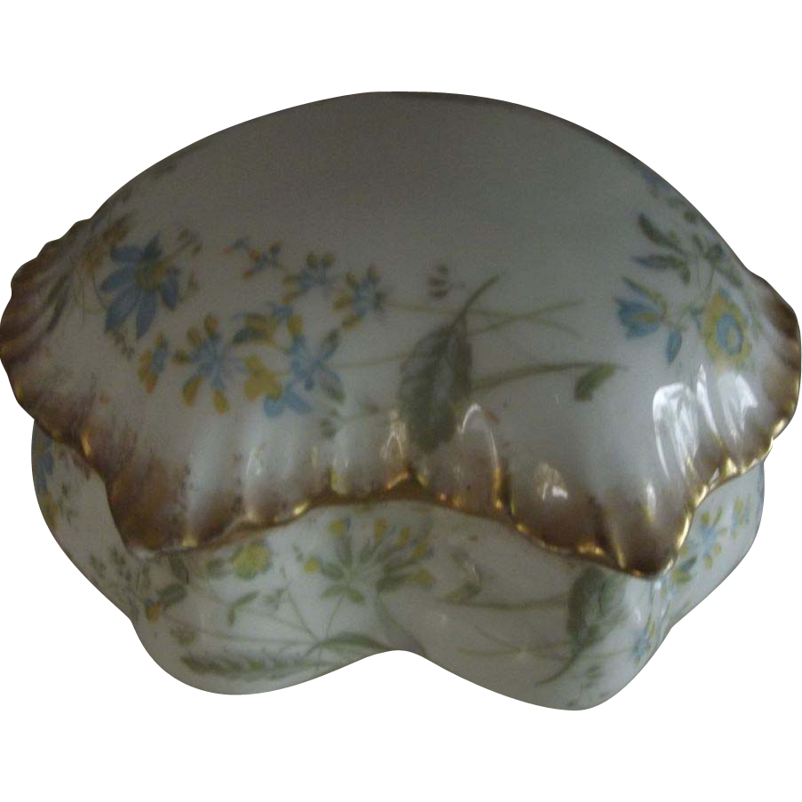 M. Redon Limoges France Covered Dish