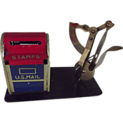 Stamp Box and Postal Scale