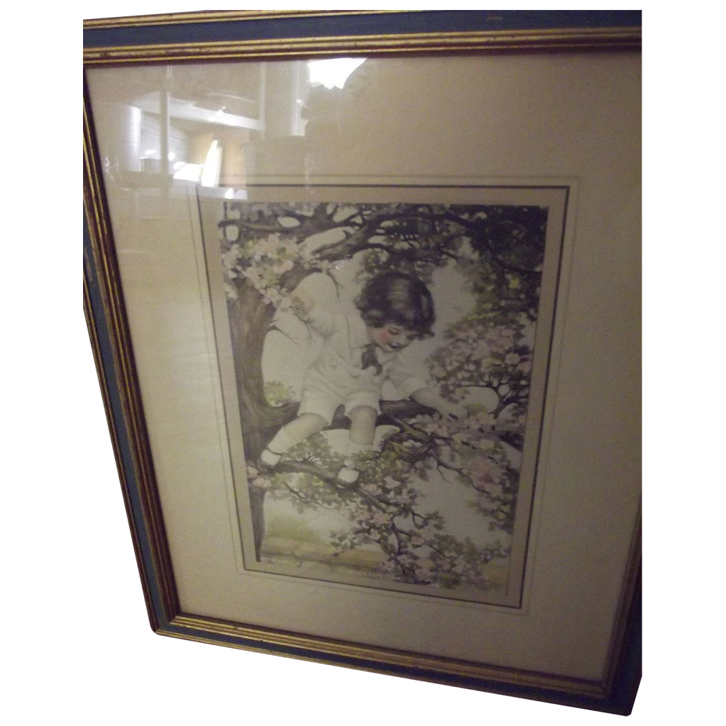 Pair of Children Prints Similar to Bessie Gutmann