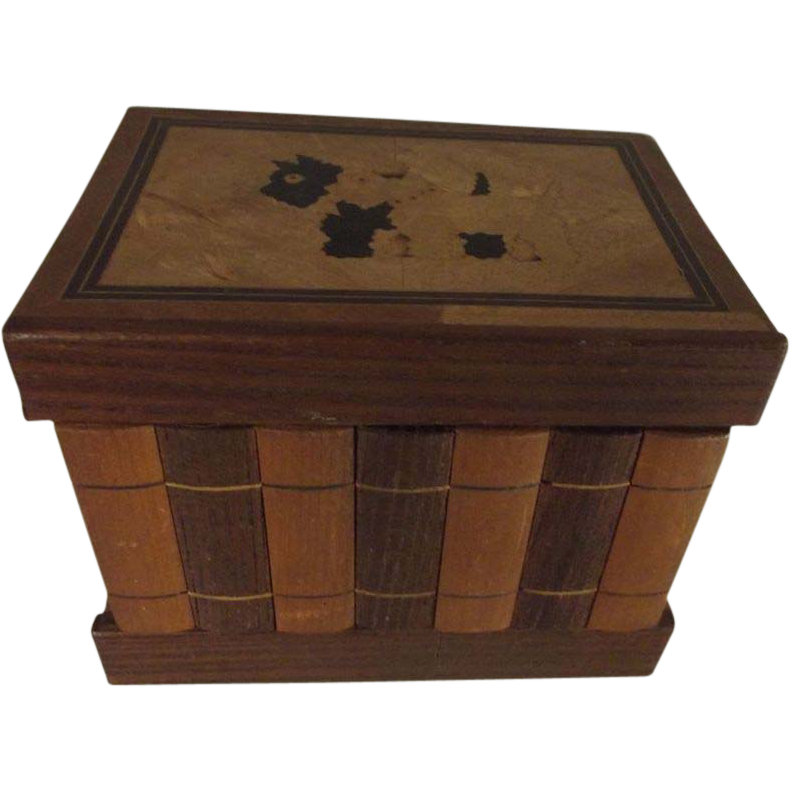 Wood Box With Scotty Dogs