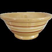 Old Yellowware Bowl
