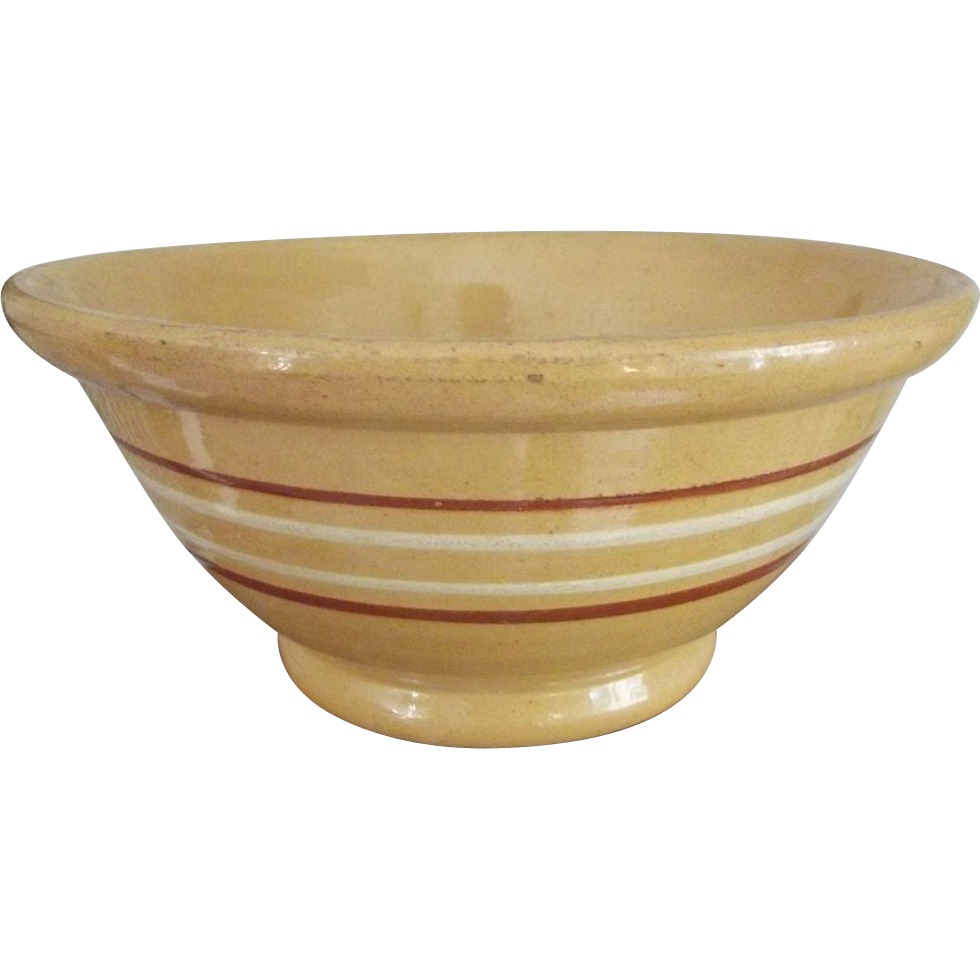 Old Yellowware Bowl