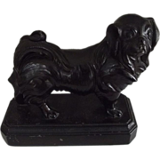 Pekingese Dog Book Ends