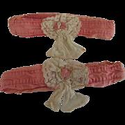 Pair of Vintage Flapper Garters