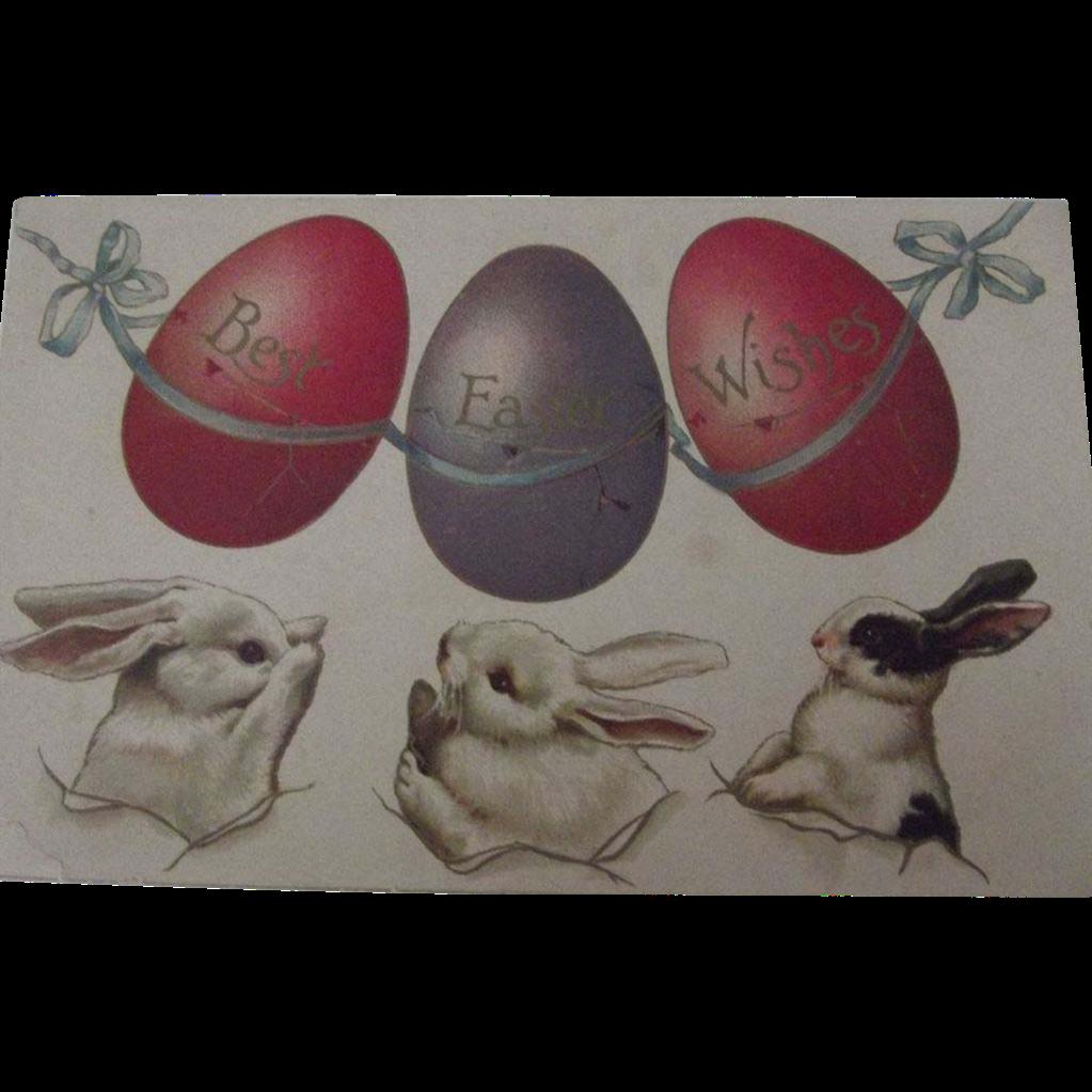 Easter Postcard 1910