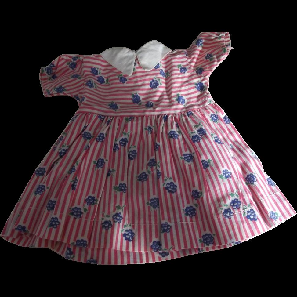 Doll Dress 40's, 50's