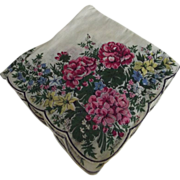 Scalloped Edge Handkerchief