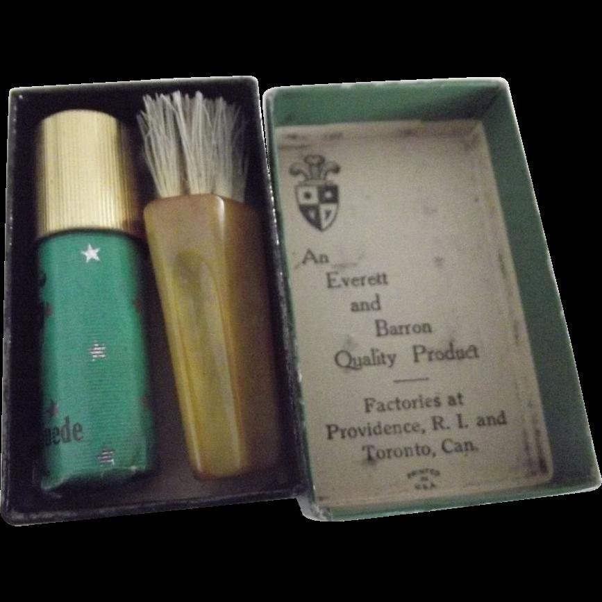 Tiny Kit For Polishing Suede Bakelite Brush From Fhtv On