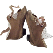German Doll Shoes With Heels