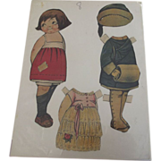 Dolly Dingle Type Paper Doll