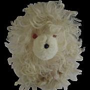 Vintage Fuzzy Dog