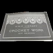 D.M.C Library Crochet Work