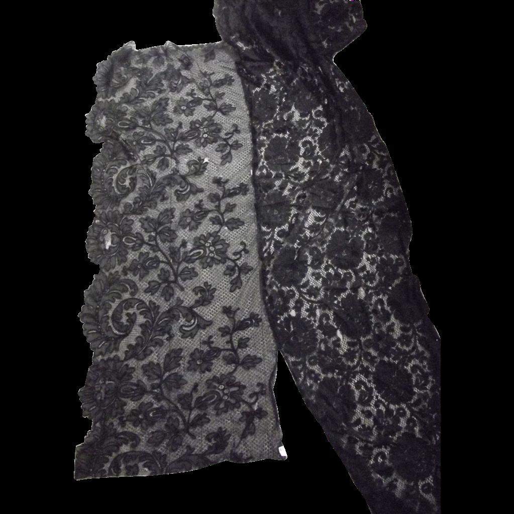 Victorian Black Lace