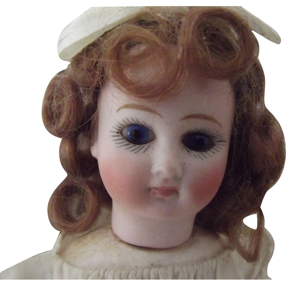Flange Head Girl, Original dress,Closed Mouth Cabinet Size