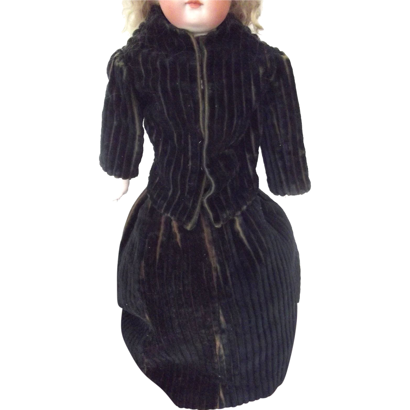 Corduroy Suit From Kid Bodied Doll