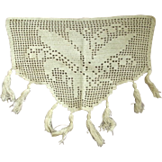 Needlework Piece With Lily of the Valley