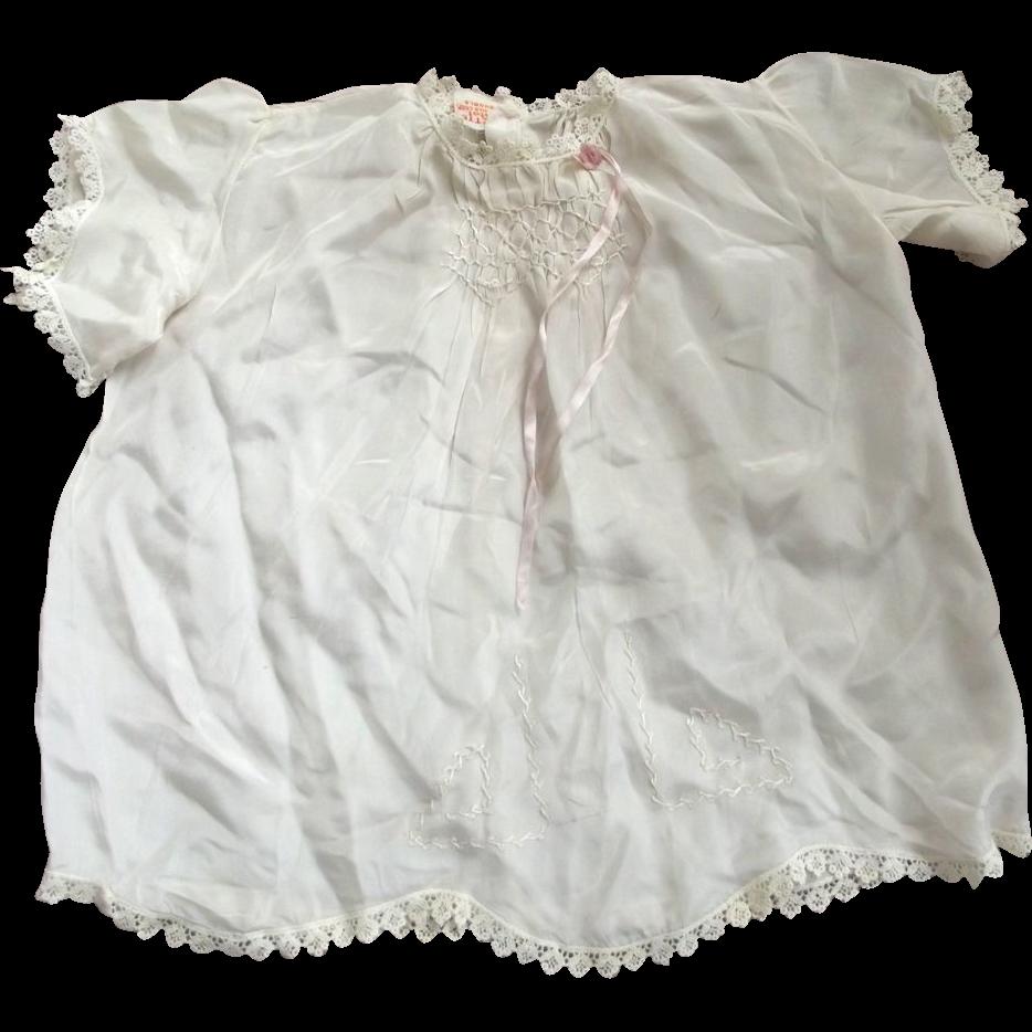 Silk 1930's Child's Dress
