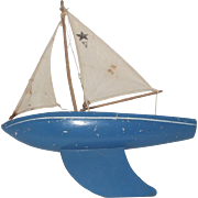 "Wood Sailboat ""Birkenhead"" Made in England"