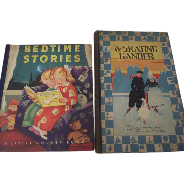 The Skating Gander and Bedtime Stories