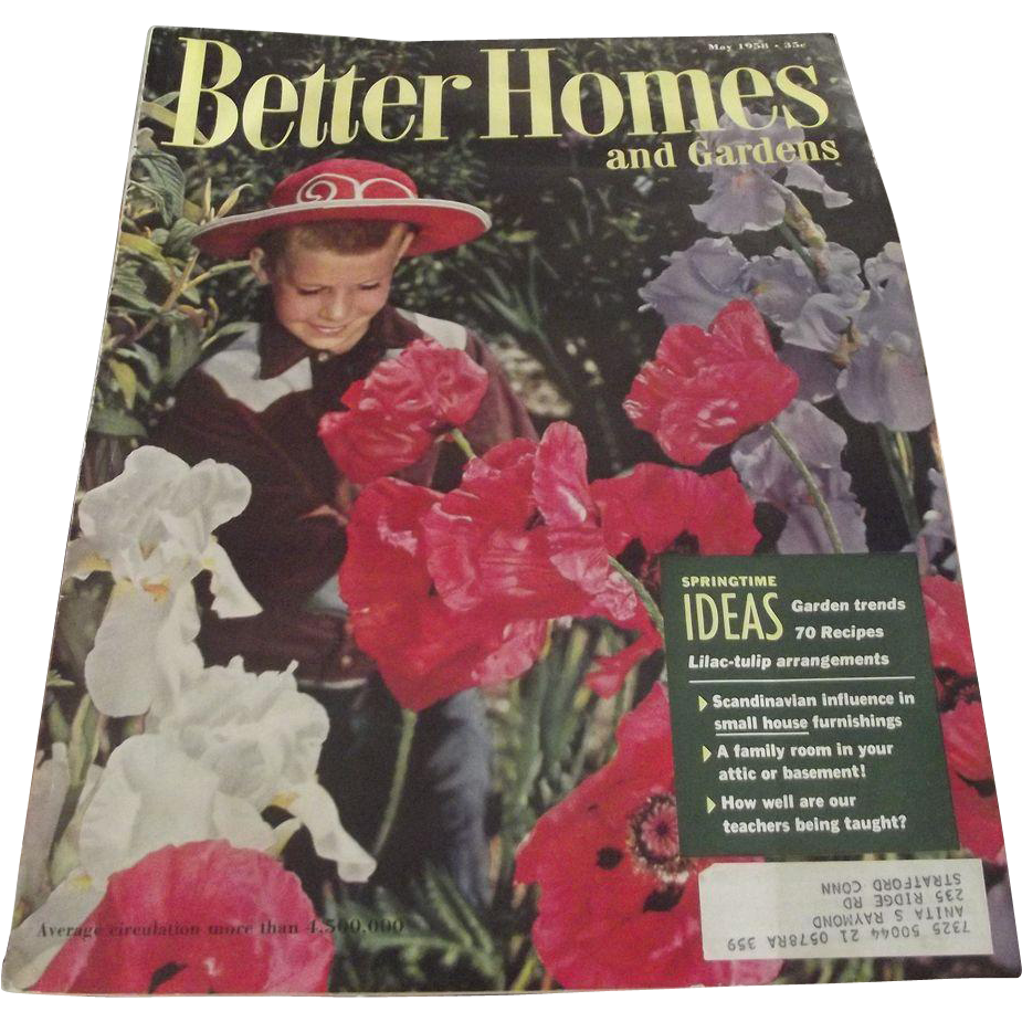 1958 Better Homes and Gardens