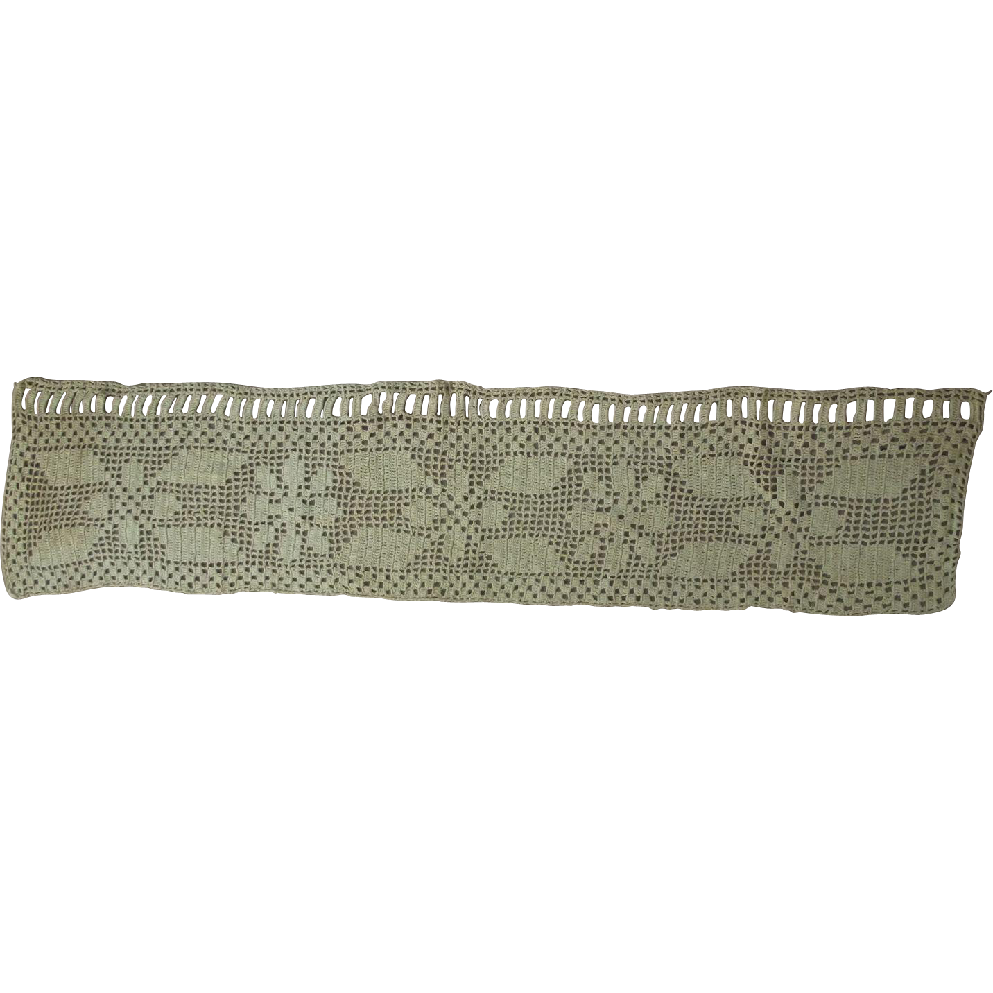 Small Vintage Valance Good For Small Window