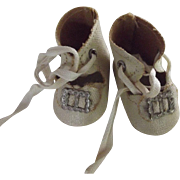 Small Oilcloth Doll Shoes
