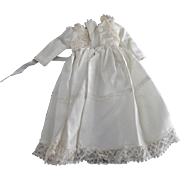 Vintage Bridal Gown For Compsition or Hard Plastic Doll