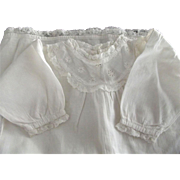Cotton Baby Gown