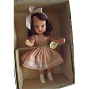Nancy Ann Storybook Doll Big Sister Goes To Play - Red Tag Sale Item