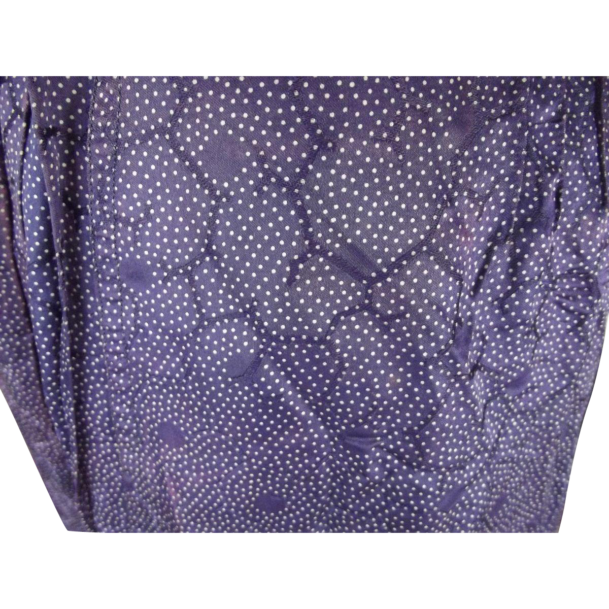 Purple Victorian Skirt For Doll Clothes or Study