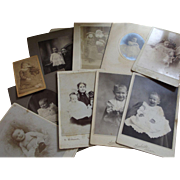 Lot of Edwardian and Victorian Children's Pictures