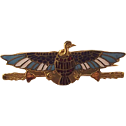 Egyptian Revival  God Bird Pin