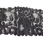 Early Wide Black Lace
