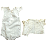 All In One For A Baby Doll and a Baby Top For Teddy