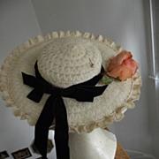 "Wide Brimmed Hat ""Cinderella"""