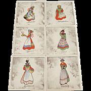 Vintage S. Christian Denmark Tiles