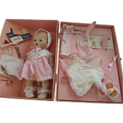 Collectible Bisque Tiny Tears IN Box With Accessories