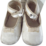 Vintage Ideal Baby Shoes In The Original Box
