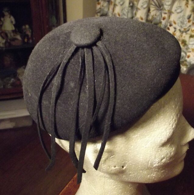 Cute Little Black Hat