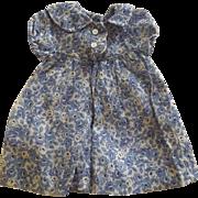 Vintage 40's 50's Doll Dress
