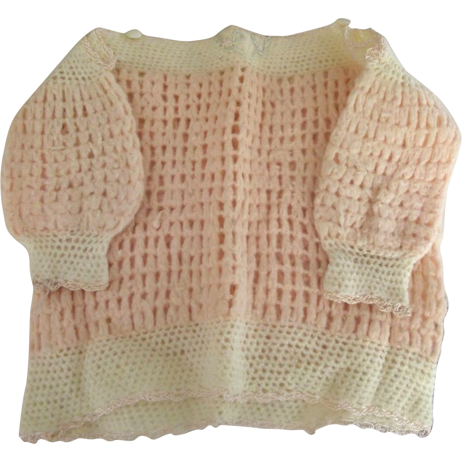 Pink Sweater For Baby or Bear