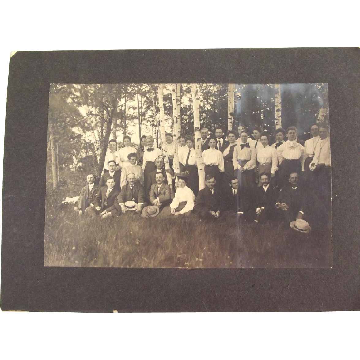 Victorian/Edwardian Botanical Club Group Photo Vermont